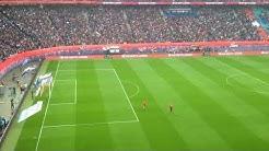 Mannschaftsaufstellung RB Leipzig vs. Bayern München +  Choreo