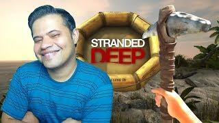 Stranded Deep - Agora vai picareta nova bora minerar #04