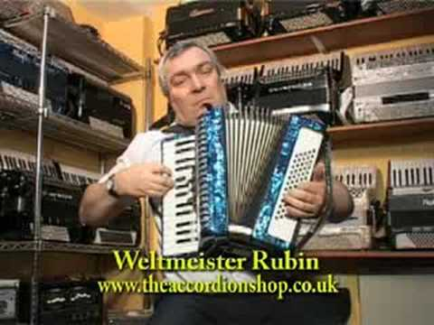 Weltmeister Rubin 60 bass accordion
