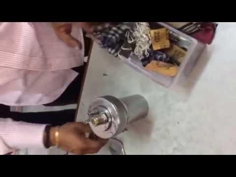 Experimental Setup For Calorimeter