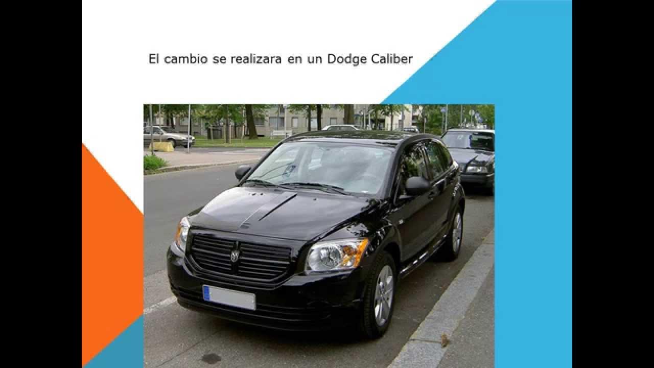 Dodge Caliber Como Cambiar Filtro Habitaculo Filtro Aire
