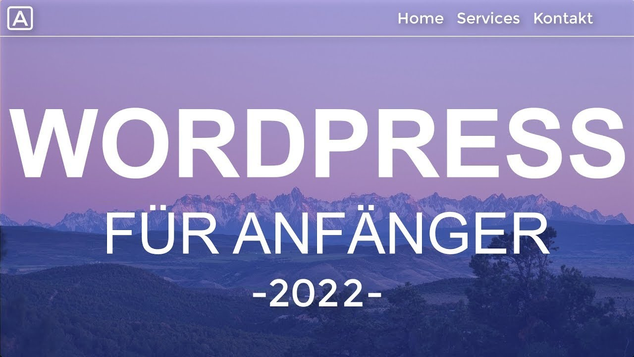 Wordpress Website Erstellen -2020- Tutorial in 21 EINFACHEN Schritten   (Deutsch German)