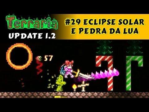 Eclipse Solar, Vampiros, Moonstone, Eye Spring e Broken Hero Sword - Terraria 1.2 #29 PT BR