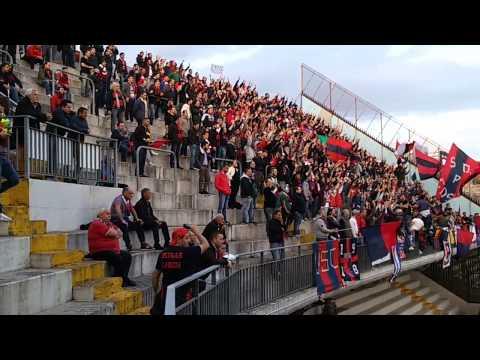 Benevento - Casertana 1-0 Ultras Casertani Settore Ospiti Cori prima parte
