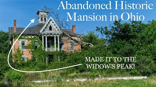 ABANDONED 1860s Victorian Mansion | Ohio Urbex