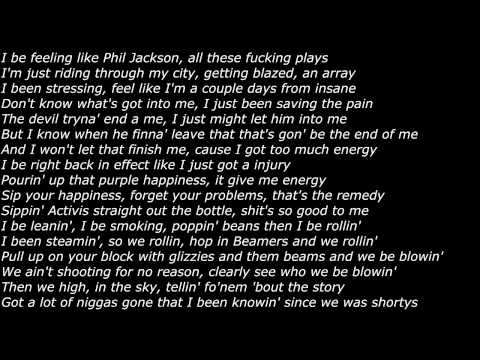 Lil Herb - 4 Minutes of Hell [PART 4] (Offical Screen Lyrics)