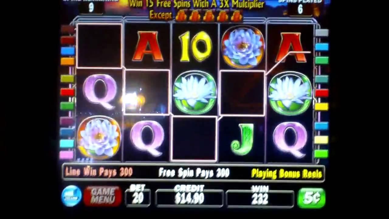 Lady of the lake slot machine