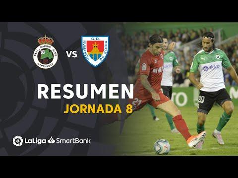 Resumen Real Racing Club Vs CD Numancia (0-0)