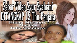Orang Penyebar Video Syur SYAHRINI Ditangkap Polisi 15 Thn Penjara