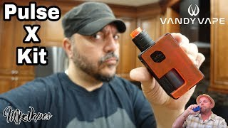 Vandy Vape Pulse X RDA & Pulse X 90w 21700 Squonk Mod By Tony B - Mike Vapes