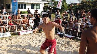 COACH vs MMA Fighter !!! Cool Fight !!!