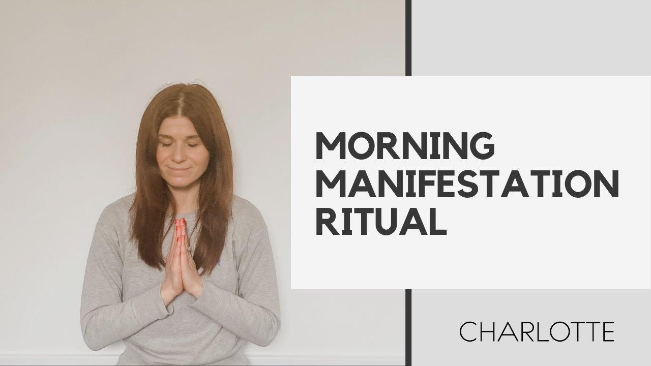 Morning Manifestation Meditation + Ritual - YouTube