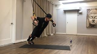 TRX at Home l 40Minute TotalBody Workout