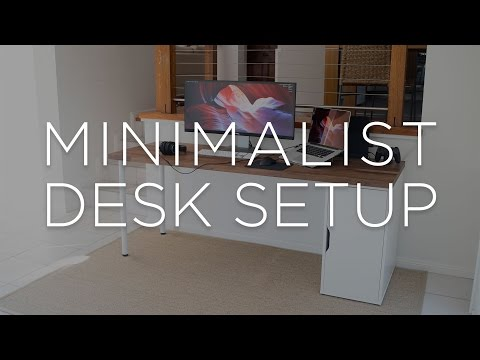 The Minimalist's Work and Play Space