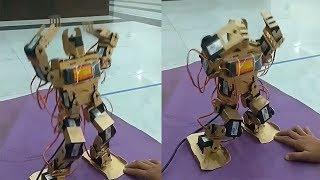 Este Robot sabe bailar!!