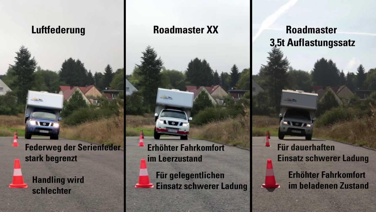 Roadmaster Fahrwerk Im Test Mit Wohnkabine Nordstar Camp