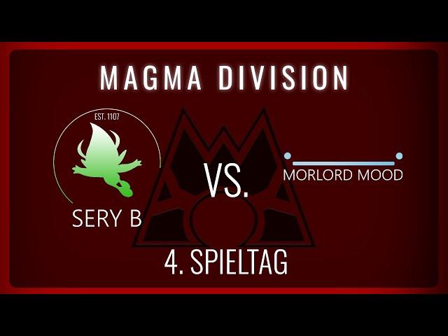 Morlord Mood vs. Sery B, 4. Spieltag Magma Division   NERDKRAM POKEMON LEAGUE
