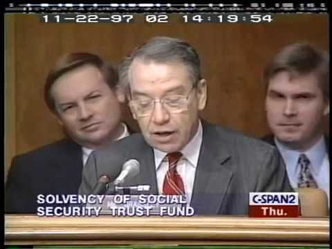 When Will the Social Security Trust Fund Be Depleted? Alan Greenspan on Solvency (1997)