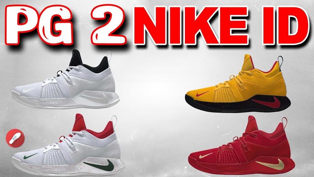 5ce43658a3af Designing the Nike PG 2 on Nike ID! - YouTube