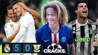 ¡GOLEADA BLANCA! 1er GOL de JOVIC   XAVI SIMONS hace 'un Neymar'   CRISTIANO lo gana al 96
