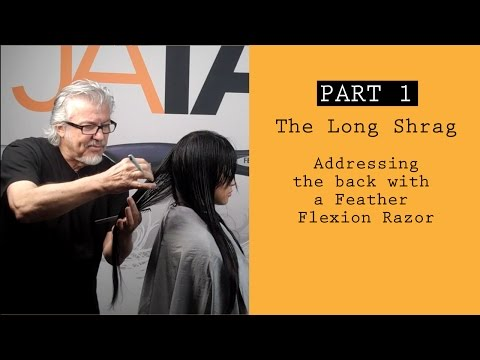 Long Shag Haircut Using the Flexion Razor