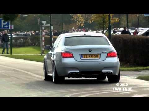 BMW M5 Eisenmann Race Exhaust + Custom X-pipe INCREDIBLE Sound (Full HD)