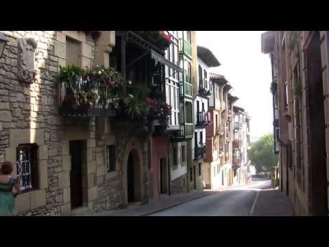 Pays Basque Espagnol la vieille ville de la station de Hondarribia