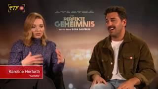 """Das perfekte Geheimnis: Interview mit Karoline Herfurth und Elyas M""""Barek"""