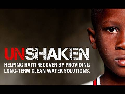 Unshaken - The charity: water campaign for clean water in Haiti