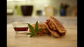 Chicken and Waffles Sandwiches