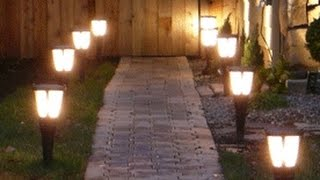 видео Освещение дачного участка