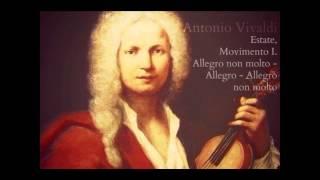 Antonio Vivaldi - Estate, Movimento I. 4. Allegro non molto - Allegro - Allegro non molto