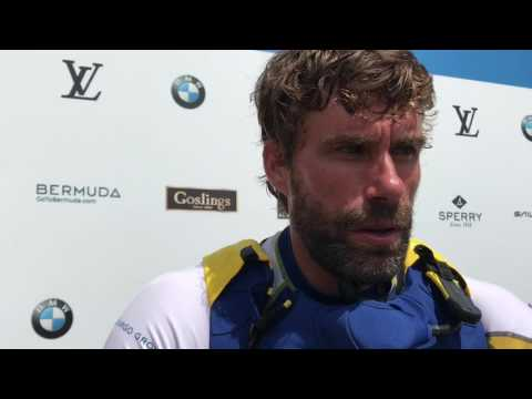 Iain Percy on beating SoftBank Team Japan for America's Cup playoff finals