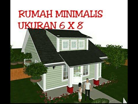 Desain Rumah Minimalis Ukuran 6x8  desain rumah minimalis ukuran 6 x 8