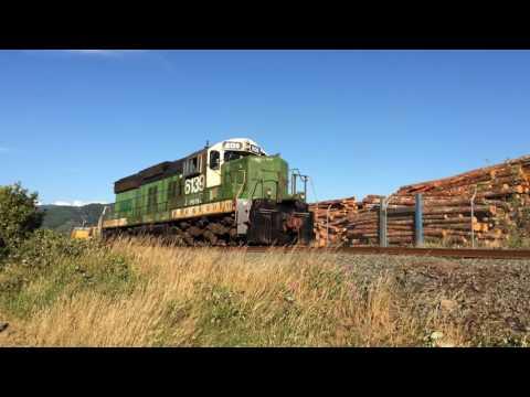 Oregon coast scenic/ Port of Tillamook Bay work train