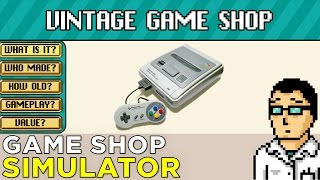 Vintage Game Shop: A Nostalgic Foray into the Life of a Game Shop Owner