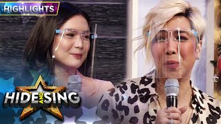 Vice expresses his fondness over Francine | It's Showtime Hide and Sing
