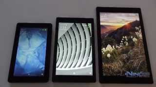 Amazon Fire Tablet 7, HD 8 and HD 10 Review