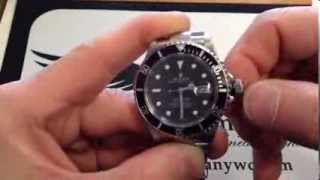 Repeat youtube video How to set the time and date on a Rolex Watch by OC Watch Company