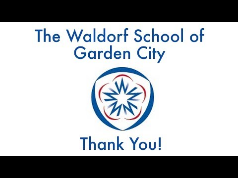 Thank You from The Waldorf School of Garden City