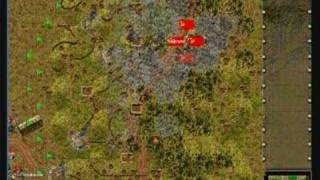 Steel Panthers (SPWAW) Game - an Artillery Attack