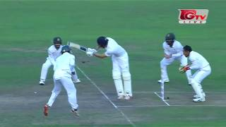 Bangladesh's Win In Second Test (Fall of England's 10 wicket in 4th innings )