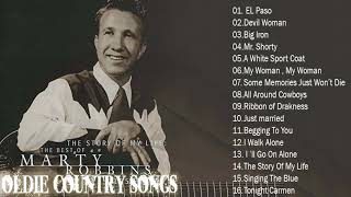 Marty Robbins Greatest Hits Full Album - Best Songs Of Marty Robbins  HD _ HQ