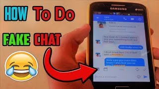 How To do FAKE 😱Chat on Facebook/Whatsapp/Twitter