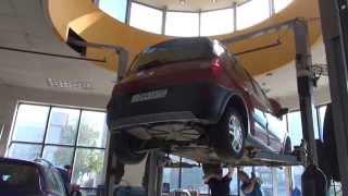 Катализатор на  авто Renault Scenic.Катализатор на Renault Scenic ремонт и замена