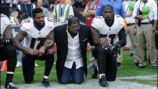 MORE NFL PLAYERS DEFY TRUMP By KNEELING DURING ANTHEM At LONDONS WEMBLEY STADIUM TODAY {VIDEO}+  !