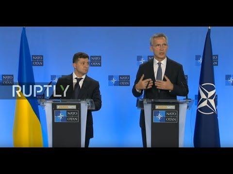 LIVE: Zelensky meets with NATO Secretary General Stoltenberg in Brussels: joint presser