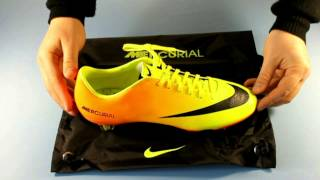 Бутсы Nike Mercurial Vapor IX FG. Обзор модели
