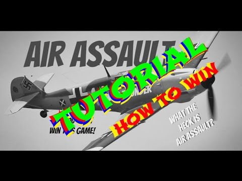 War Thunder Air Assault tutorial on how to win it. EP1 (lets play)