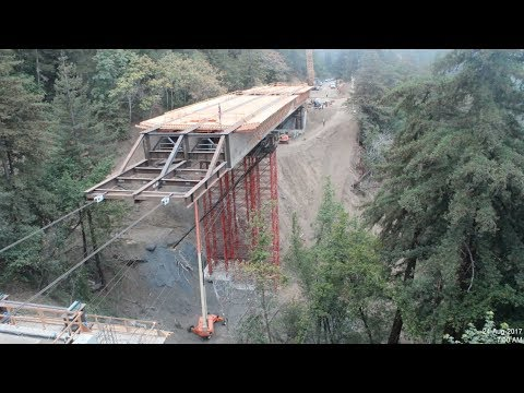 Pfeiffer Canyon Bridge Opening - Caltrans News Flash #152